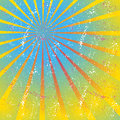Radiating converging lines rays bright star burst sunburst background Royalty Free Stock Images