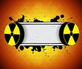 Radiation background Stock Photography