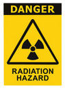 Radiation Hazard Symbol Sign R...