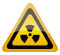 Radiation sign Stock Photography