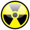 Radiation symbol Stock Photography