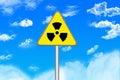 Radiations Hazard Royalty Free Stock Photo