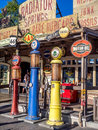 Radiator Springs gift shop at Carsland, Disney California Adventure Park