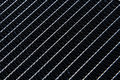 Radiator texture close up pattern Stock Image