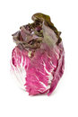 Radicchio isolated on white Royalty Free Stock Photo