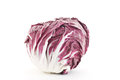 Radicchio salad isolated on white Stock Image
