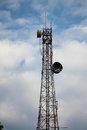 Radio Antenna Mast Royalty Free Stock Photo