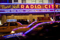 Radio City Music Hall New York City Royalty Free Stock Photo