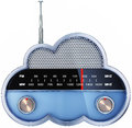 Radio de nuage Photo stock