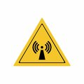 Radio frequency radiation sign vector design