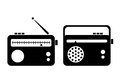 Radio icon Royalty Free Stock Photo