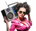 Radio lover Royalty Free Stock Image