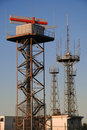 Radio and Radar station Stock Images
