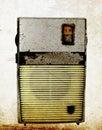 Radio small retro toned image Royalty Free Stock Images