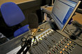 Radio station Stock Photography