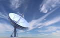 Radio telescope Stock Image