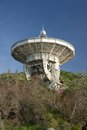 Radio telescope in crimea ukraine Stock Photography