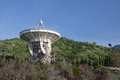 Radio telescope in crimea ukraine Stock Photos