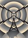 Radio Tower Royalty Free Stock Photo