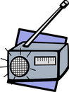 Radio vector illustration Royalty Free Stock Photos