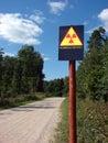 Radioactive contamination Royalty Free Stock Photo