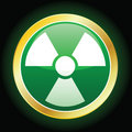 Radioactive Icon Royalty Free Stock Images
