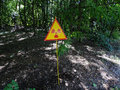 Radioactive sign Royalty Free Stock Photo