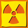 Radioactive symbol Stock Images