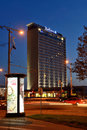 Radisson blu hotel lietuva on november in vilnius lithuania hotels is an international company with more than Stock Photo