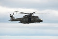 Raf merlin helicopter a in the mountains Stock Images
