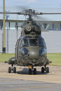 RAF Puma helicopter Royalty Free Stock Image