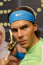 Rafael nadal in the famous wax museum madame tussauds london england Stock Photos