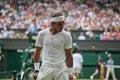 Rafeal Nadal - Wimbledon 2010 Stock Images