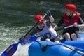 Rafting Champs Banja Luka 2009 Stock Images
