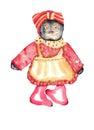 Rag Doll Watercolor