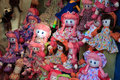 Rag dolls traditional photographed with end of day natural light Royalty Free Stock Image