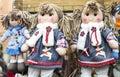 Rag dolls Royalty Free Stock Photo