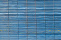 Ragged blue shutters Royalty Free Stock Image