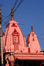 Raghunath hindu temple, Jammu, India Royalty Free Stock Images