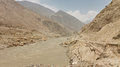 Raging indus river pakistan the in northern Royalty Free Stock Image