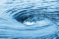 The raging whirlpool huge on a river surface Stock Photo