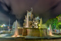 Raices Fountain in Old San Juan Royalty Free Stock Photo