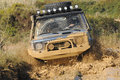 Raid 4X4 adventure race Royalty Free Stock Images