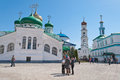 Raifa male bogoroditssky monastery tatarstan russia may on may in village it is located km of kazan the main shrine of Royalty Free Stock Photography