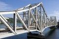 Rail bridge Stock Photo