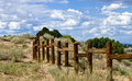 Rail fence Royalty Free Stock Images