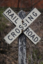 Rail Road Crossing Royalty Free Stock Image