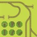 Rail segments
