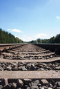 Rail track Royalty Free Stock Photo