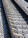 Rail Track Lines Royalty Free Stock Photos